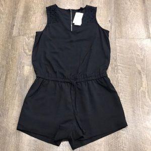 Banana Republic jumpier romper NEW black jumpsuit